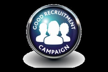 Good recruitment campaign logo