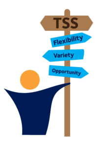 TSS signpost logo